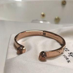 Kate Spade rose gold cuff bracelet